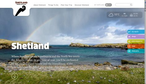 NB Communication has a track record of working with Promote Shetland under the previous contract holder, Shetland Amenity Trust, including on its website.