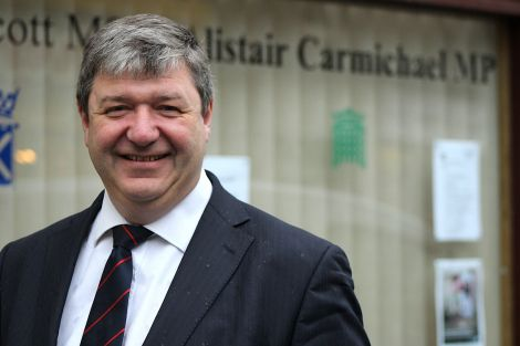 Orkney and Shetland MP Alistair Carmichael.