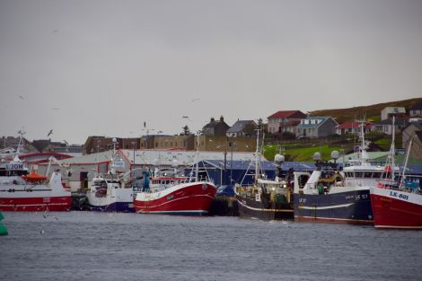 Despite hard lobbying by the industry, fishing could be ruled by Brussels until the end of the proposed Brexit transition period. Photo: Shetland News