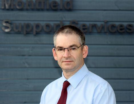 NHS director of community health and social care Simon Bokor-Ingram.