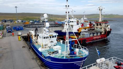 Cullivoe is up for a national fishing award. Photo: Kevin Tulloch