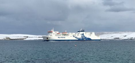 NorthLink passenger and freight sailings have been cancelled for Thursday, with Friday's sailings also under review.