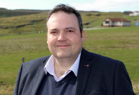 Highlands and Islands list MSP Jamie Halcro Johnston. Photo: Chris Cope/Shetland News