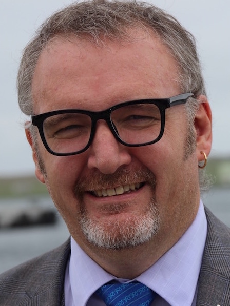 Gary Robinson will take up his new role from the start of August. Photo: Hans J Marter/Shetland News