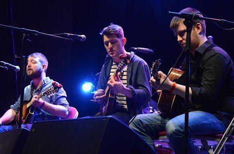 Local band Vair impressed with their Irish and Americana influenced music. Photos: Zdenka Mlynarikova