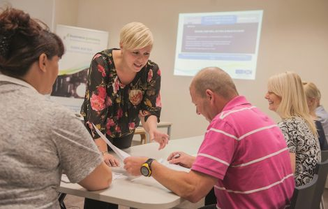 The two day business start up course provides an invaluable overview of what is involved. Photo: Business Gateway