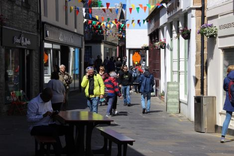 Lerwick's Commercial Street. Photo: Shetland News