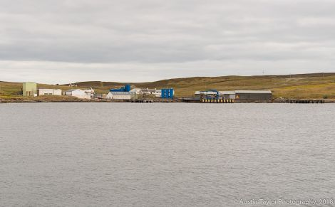 Shetland Fish Products is now wholly owned by the Norwegian company Pelagia. Photo: Austin Taylor