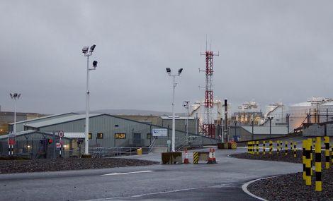 Shetland Gas Plant at Sullom Voe. Photo: Hans J Marter/Shetland News