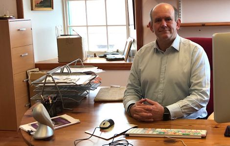 Shetland Amenity Trust chief executive Mat Roberts. Photo: Shetland News