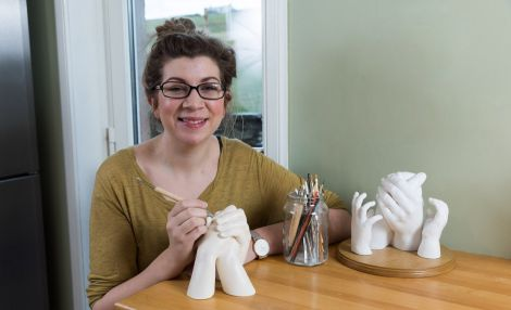 Laura Hodge of Keepsake Casting, a business that is ready to grow.