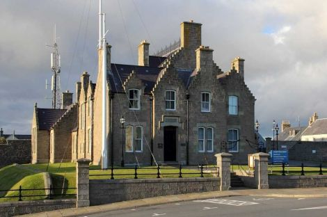 Lerwick Sheriff Court.