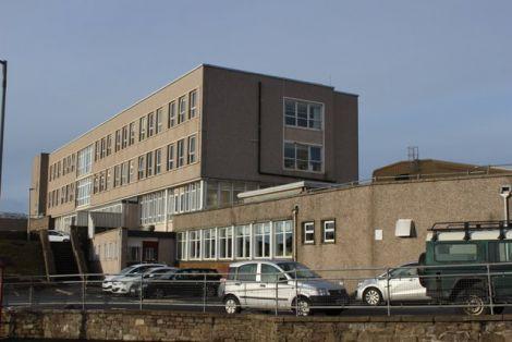 Lerwick's Gilbert Bain Hospital.